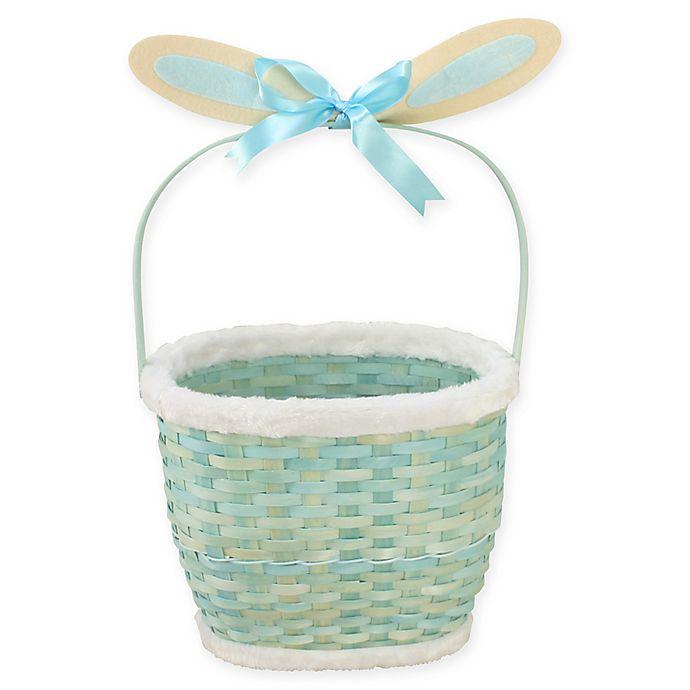Alternate image 1 for Wicker Bunny-Inspired Easter Basket