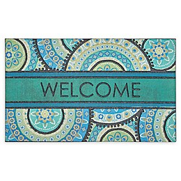 Mohawk Home® Doorscapes Peacock Medallion Welcome 18\