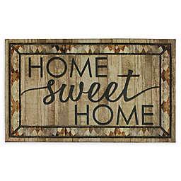 """Mohawk Home® Doorscapes Rustic Home Sweet Home 18"""" x 30"""" Rubber Door Mat"""