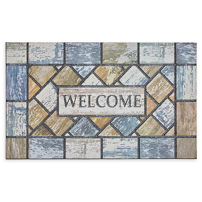 Alternate image 1 for Mohawk Home® Doorscapes Drifted Color Welcome 18\