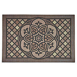 "Mohawk Home® Doorscapes Venetian Walk Medallion 23"" x 35"" Rubber Door Mat"