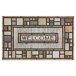 "Mohawk Home® Doorscapes Drifted Nature Welcome 23"" x 35"" Rubber Door Mat"