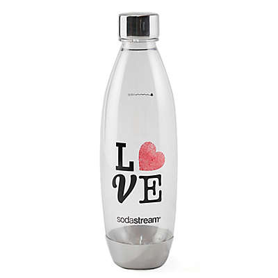 "sodastream® 1-Liter ""Love"" Carbonating Water Bottle"