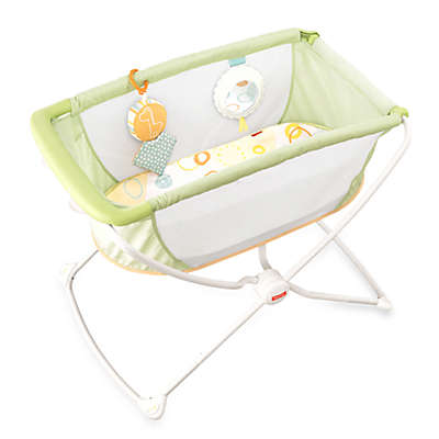 Fisher-Price® Portable Bassinet in Yellow
