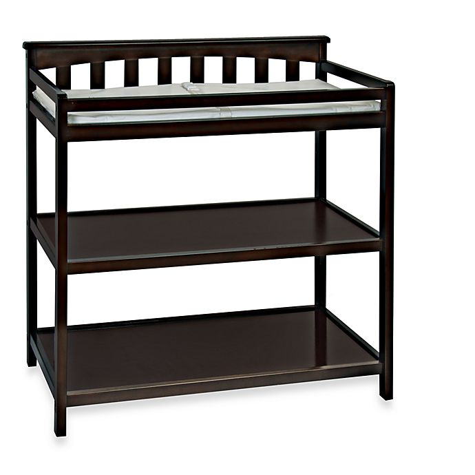 Alternate image 1 for Child Craft™ London Euro Flat Top Changing Table in Jamocha