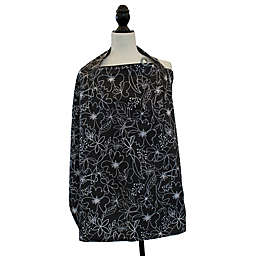 Boppy® Nursing Cover in Black and White Scribbles