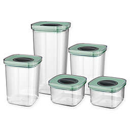 BergHOFF® Leo 5-Piece Smart Seal Food Storage Container with Lids Set in Green