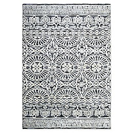 Bee & Willow™ Home Ashby Area Rug in Grey/Ivory