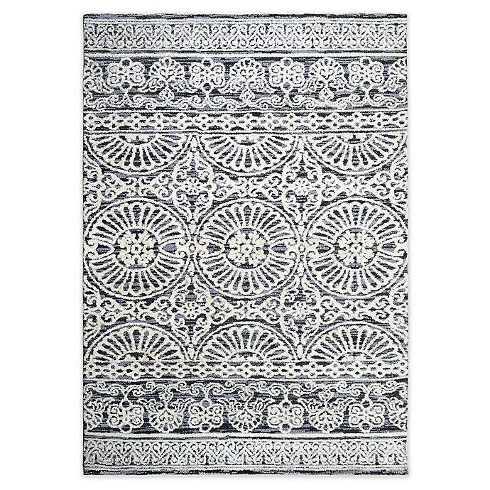Alternate image 1 for Bee & Willow™ Home Ashby 5' x 7' Area Rug in Grey/Ivory