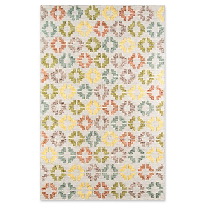 Alternate image 1 for Momeni Boho 2' x 3' Hand-Tufted Accent Rug in Ivory