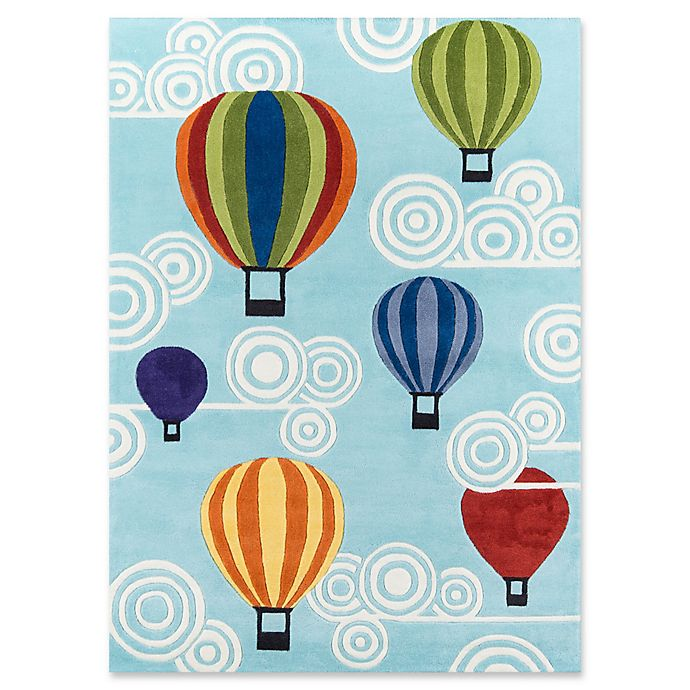 Alternate image 1 for Momeni Hot Air Balloons 5' x 7' Multicolor Area Rug