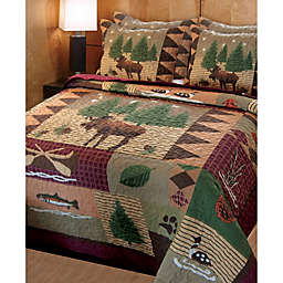 Lodge Style Bedding Amp Bedding Sets Lodge Curtains Bed