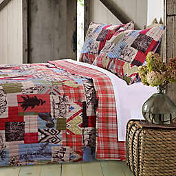 Rustic Lodge Quilt Set in Natural