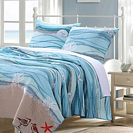 Maui Quilt Set in Turquoise