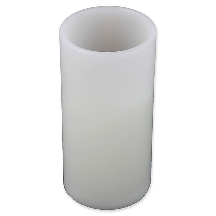 Alternate image 1 for Northlight 8-Inch Flameless Candle in White