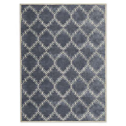 Bee & Willow™ Home Morrow Area Rug in Silver/Almond