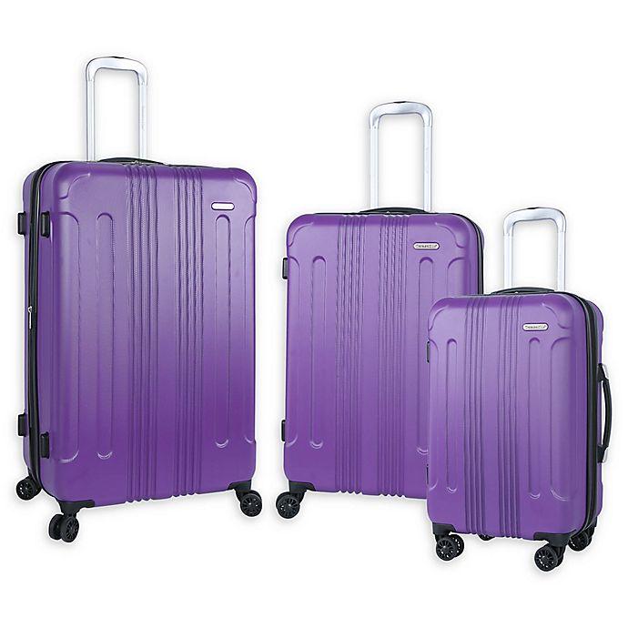Alternate image 1 for Traveler's Club® Voyager Hardside Spinner Luggage Collection