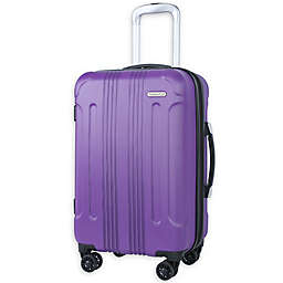 Traveler's Club® Voyager 20-Inch Hardside Spinner Carry On Luggage in Purple