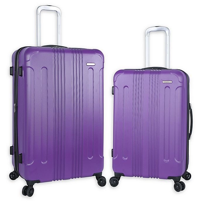 Alternate image 1 for Traveler's Club® Voyager Hardside Spinner Checked Luggage