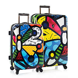 Heys® Britto Butterfly Hardside Spinner Checked Luggage