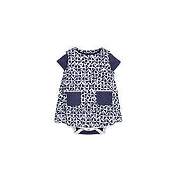 Burt's Bees Baby® 2-Piece Stamped Hearts Bodysuit and Dress Set