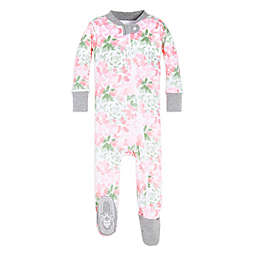 Burt's Bees Baby® Tossed Succulent Footed Pajama