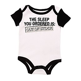 """Baby Starters® BWA """"Out of Stock"""" Bodysuit in White"""
