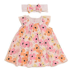 Baby Starters® 2-Piece Floral Dress and Headband Set