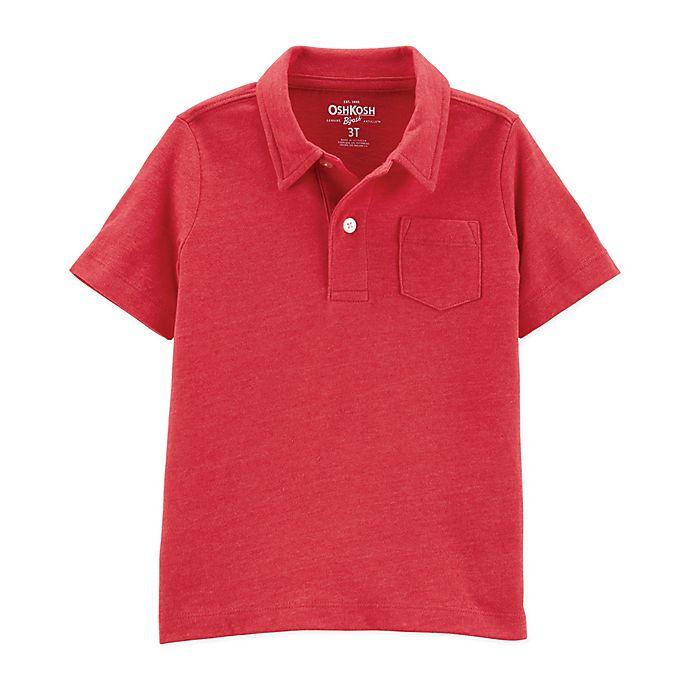 Alternate image 1 for OshKosh B'gosh® Polo Shirt in Orange