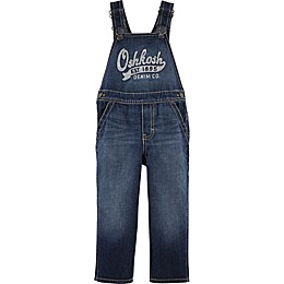 OshKosh B'gosh® Logo Union Wash Denim Overall