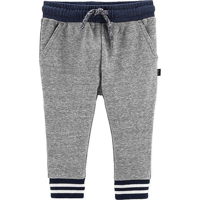Alternate image 1 for OshKosh B'gosh® Knit Pants in Grey