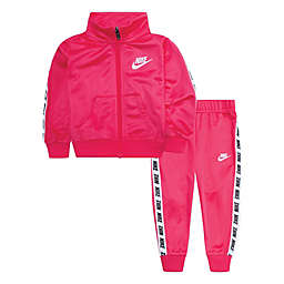 Nike® 2-Piece Tricot Track Jacket and Pant Set in Pink
