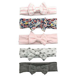 Curls & Pearls 5-Pack Mini-Bow Headbands