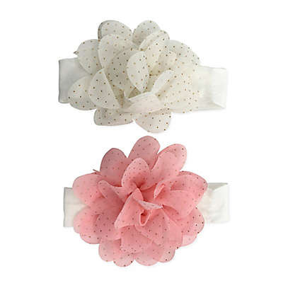 Curls & Pearls 2-Pack Large Sparkle Headbands
