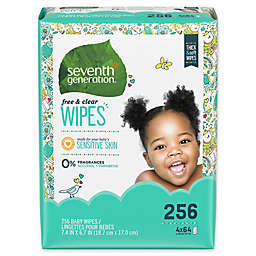 Seventh Generation™ Free & ClearBaby Wipes (256-Count)