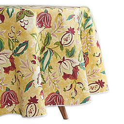 Waverly Lexie Indoor/Outdoor Round Tablecloth