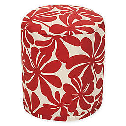 Majestic Home Goods™ Polyester Plantation Ottoman