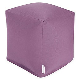 Majestic Home Goods™ Polyester Solid Ottoman