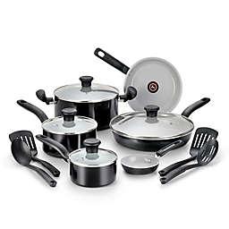 T-Fal® Initiatives Ceramic 14-Piece Cookware Set
