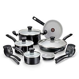 T-Fal® Initiatives Ceramic 14-Piece Cookware Set