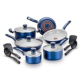 T-Fal® Initiatives Ceramic Cookware Collection in Black
