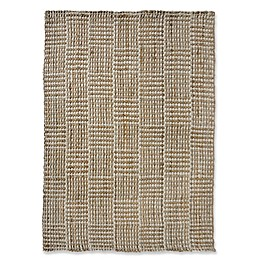 Liora Manne Squares Area Rug in Natural
