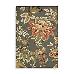 Nourison Fantasy Floral Hand Hooked Area Rug