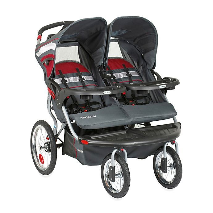 Alternate image 1 for Baby Trend® Navigator Double Jogging Stroller