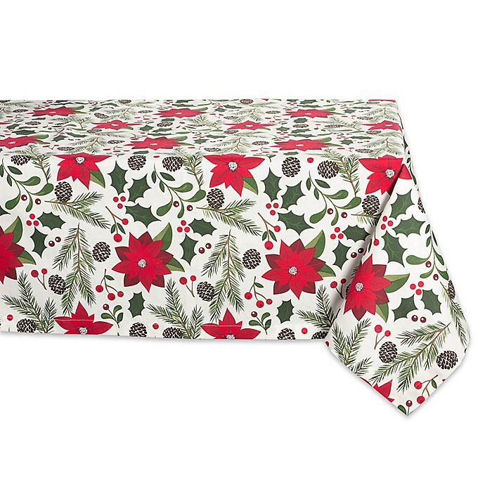 Design Imports Woodland Christmas Table Linen Collection Bed Bath