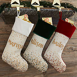 Christmas Stocking Personalized.Personalized Christmas Stockings Bed Bath Beyond