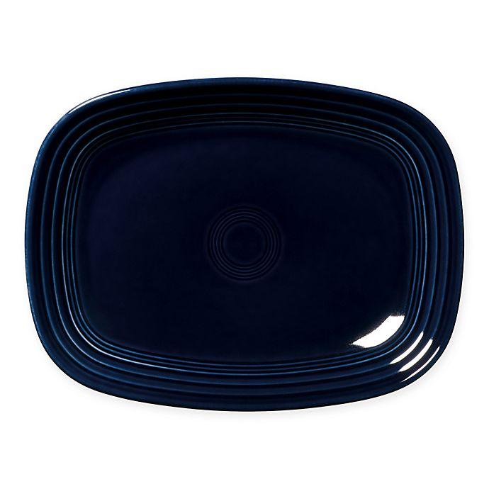 Alternate image 1 for Fiesta® 12-Inch Rectangular Platter in Cobalt