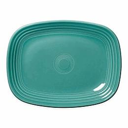 Fiesta® 12-Inch Rectangular Platter in Turquoise
