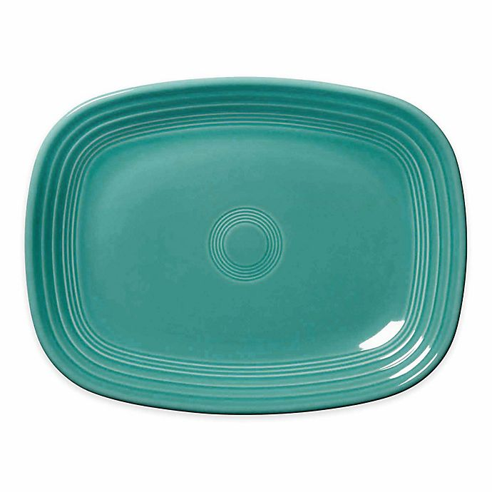 Alternate image 1 for Fiesta® 12-Inch Rectangular Platter in Turquoise