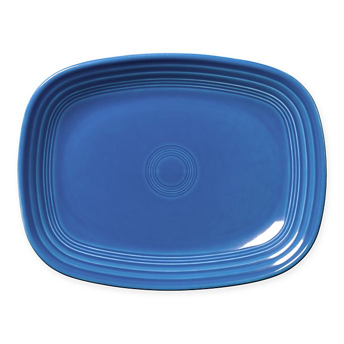 Alternate image 1 for Fiesta® 12-Inch Rectangular Platter in Lapis